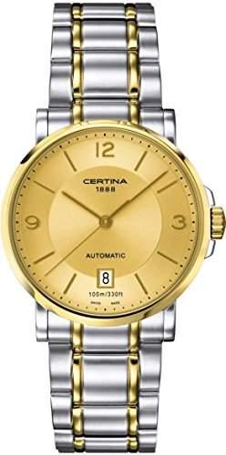 Certina Herren-Armbanduhr XL Analog Automatik Edelstahl C0174072202700