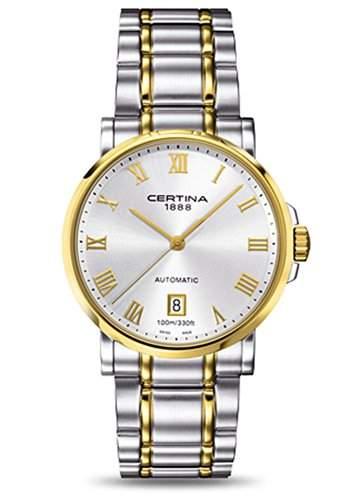 Certina Herren-Armbanduhr XL Analog Automatik Edelstahl C0174072203300