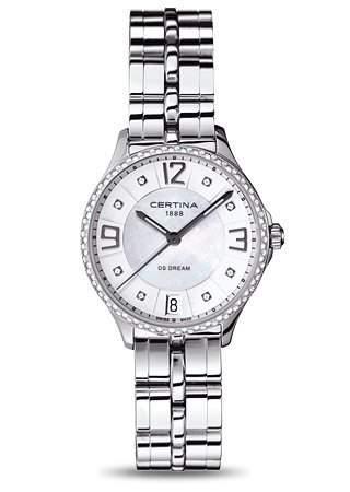 Certina Damen-Armbanduhr XS Analog Quarz Edelstahl C0212106111600