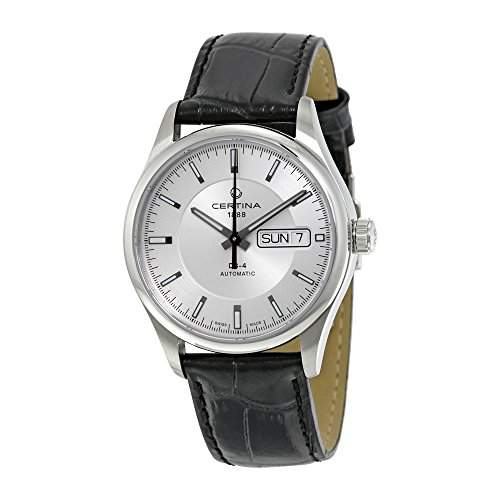 Certina Herren-Armbanduhr XL Analog Automatik Leder C0224301603100