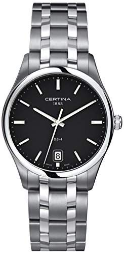 Certina Herren-Armbanduhr XL Analog Quarz Edelstahl C0226101105100