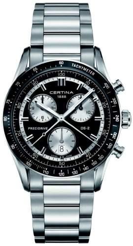 Certina Herren-Armbanduhr XL Chronograph Quarz Edelstahl C0244471105100