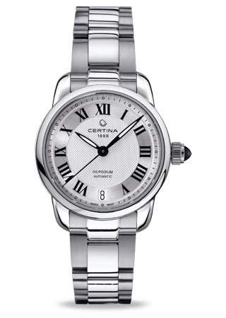 Certina Damen-Armbanduhr XS Analog Automatik Edelstahl C0252071103800