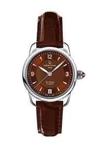 Certina Damen-Armbanduhr XS Analog Automatik Leder C0252071629700