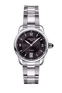 Certina Damen-Armbanduhr XS Analog Quarz Edelstahl C0252101105700