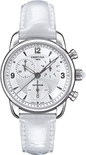 Certina Damen-Armbanduhr XS Chronograph Quarz Leder C0252171601700