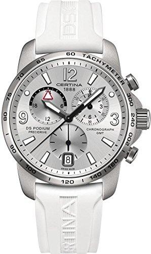 Certina DS Podium GMT Aluminium C001 639 97 037 00 Damenchronograph Aluminiumgehaeuse
