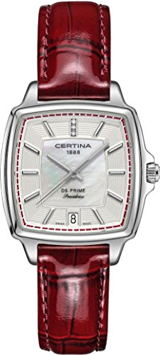 Certina DS Prime C028 310 16 426 00 Damenarmbanduhr mit echten Diamanten
