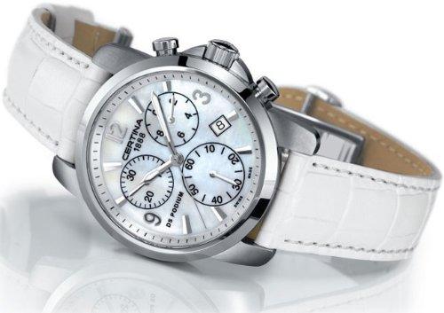 Certina Damen Armbanduhr XS Certina DS Podium Lady Chronograph Leder C001 217 16 117 00