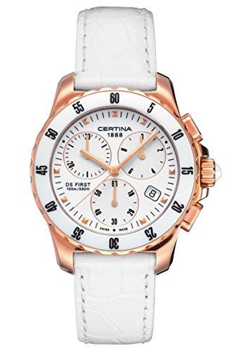 Certina XS Chronograph Quarz Leder C014 217 36 011 00