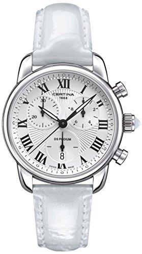 Certina XS Chronograph Quarz Leder C025 217 16 018 01