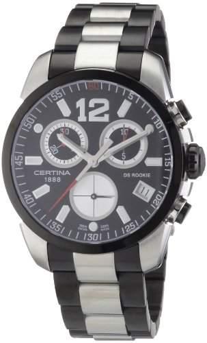 Certina Herren-Armbanduhr XL Chronograph Quarz Edelstahl C0164172205700