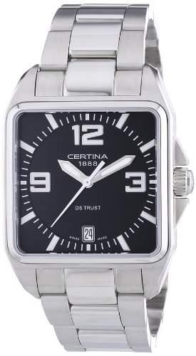 Certina Herren-Armbanduhr XS Certina DS Trust Analog Edelstahl C0195101105700