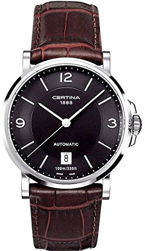 Certina XL Analog Automatik Leder C017 407 16 057 00