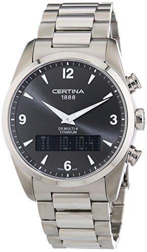 Certina XL Analog Digital Quarz Edelstahl C020 419 44 087 00