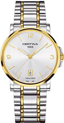 Certina XL Analog Quarz Edelstahl C017 410 22 037 00