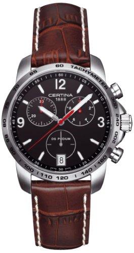 Certina XL Chronograph Quarz Leder C001 417 16 057 00