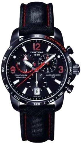 Certina XL Chronograph Quarz Leder C001 639 16 057 02