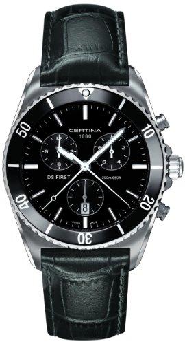 Certina XL Chronograph Quarz Leder C014 417 16 051 00