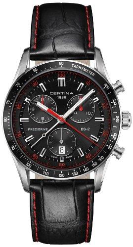 Certina XL Chronograph Quarz Leder C024 447 16 051 03