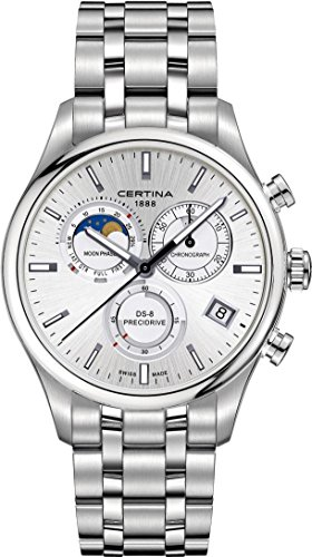 Certina DS 8 Moon Phase C033 450 11 031 00 Herrenchronograph Mondphase