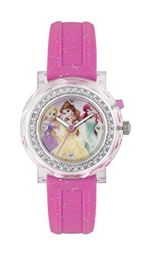 Princess Maedchen Armbanduhr Analog Gummi Rosa PN1067