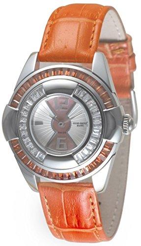 Zeno Watch Damenuhr Lalique Lalique orange 6602Q s3 5