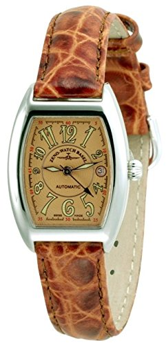 Zeno Watch Tonneau Lady brown 6271 h6