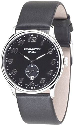 Zeno Watch Flat Bauhaus Quartz 6493Q c1