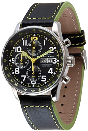 Zeno Watch X Large Pilot Chronograph Day Date special P557TVDD a19
