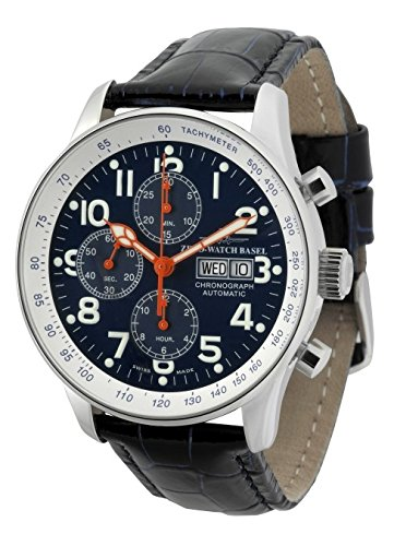 Zeno Watch X Large Pilot Chronograph Day Date special P557TVDD b15
