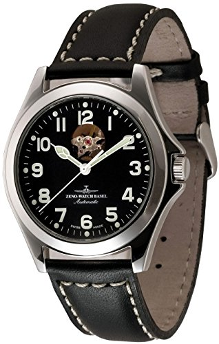Zeno Watch Ghandi Open Heart Automatic 8112U a1