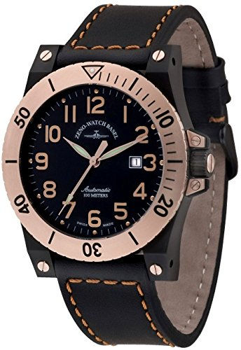 Zeno Watch Muscle Automatic 8095 BRG g1