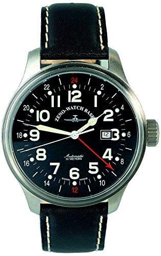 Zeno Watch OS Pilot GMT Dual Time 8563 a1