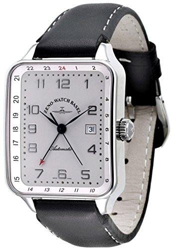 Zeno Watch SQ Retro GMT Dual Time 163GMT e2