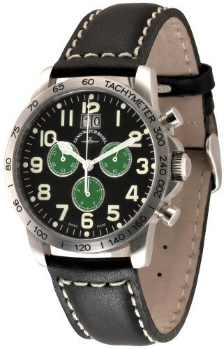 Zeno Watch Tachymeter Chronograph Big Date 3546Q a18