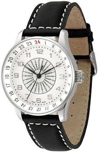 Zeno Watch X Large Retro world timer P554WT e2