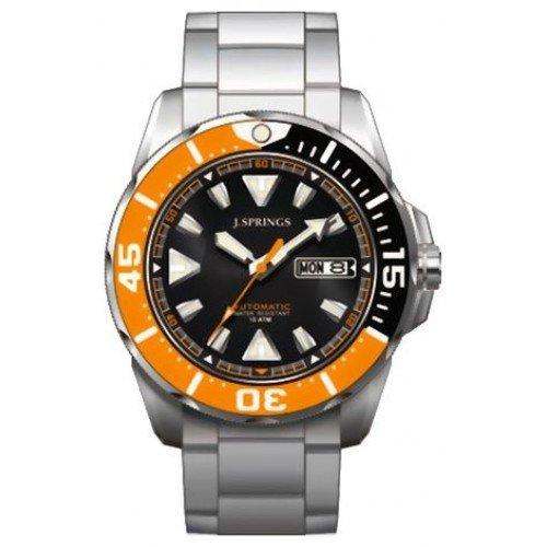 J Springs Herren Armbanduhr Analog Automatik BEB078