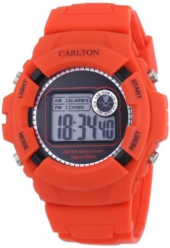 CARLTON Unisex Armbanduhr ice bomb DH9595RDP