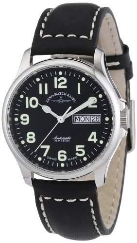 Zeno Watch Basel Unisexarmbanduhr Pilot Basic 12836DD-a1