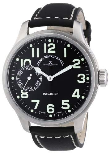 Zeno Watch Basel Herrenarmbanduhr Pilot Oversized 8558-9-a1