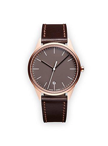 Uniform Wares Damen Armbanduhr C36 SRG W1 COR BRN 1618S 01