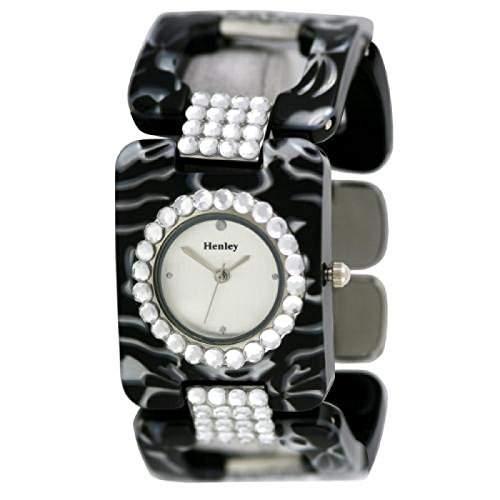 Henley Glamour - H070412 - Damenuhr in Praesentbox Spangenuhr