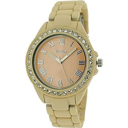 Henley Glamour Damenuhr, Diamante Luenette, Soft-Touch gummierte Uhr H0720212