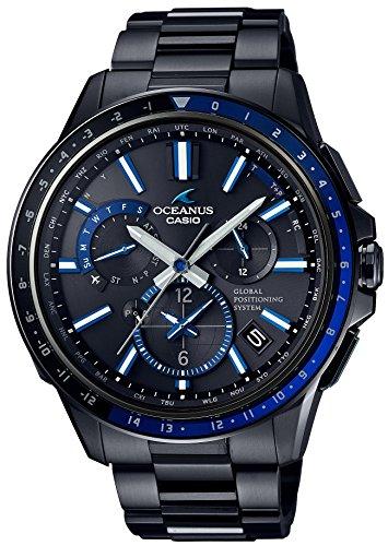 CASIO Mann Bewachung OCEANUS GPS hybrides Sonnenradio OCW G1100B 1AJF