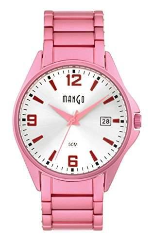 Mango Damen - Armbanduhr Analog Quarz A68357P4I