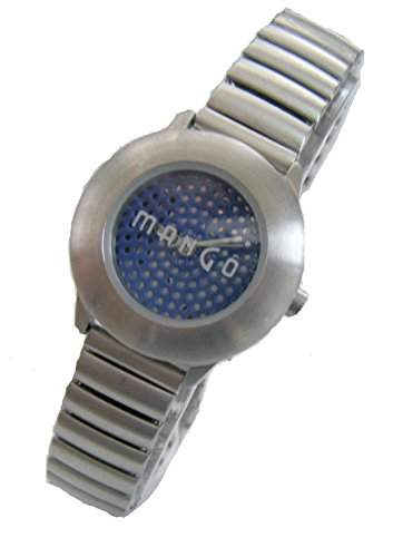 Mango Jugend - Armbanduhr Analog Quarz Zugband Band, Edelstahl A9411S8