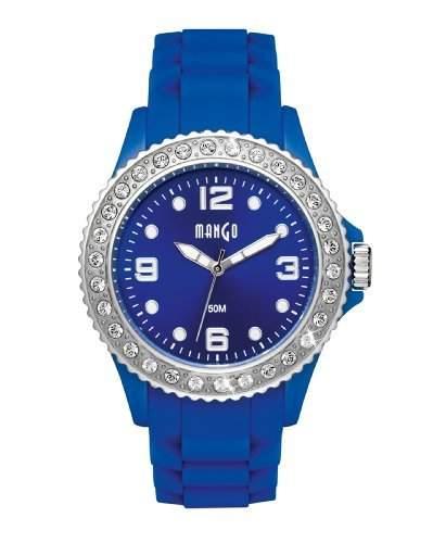 Mango Damen - Armbanduhr Analog Quarz Silikon A683360B8KV