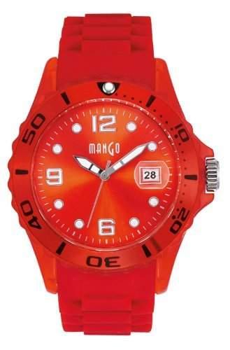 Mango Damen - Armbanduhr Analog Quarz Silikon A68333R2KV