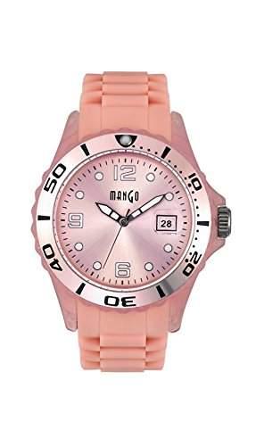 Mango Damen - Armbanduhr Analog Quarz Silikon A68333P114KVKV